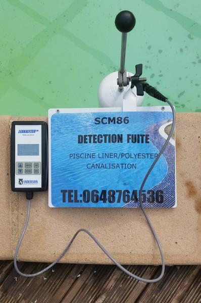 stop fuite 86 scm86 detection reparation fuite analyse qualite eau piscine d tection de fuite. Black Bedroom Furniture Sets. Home Design Ideas